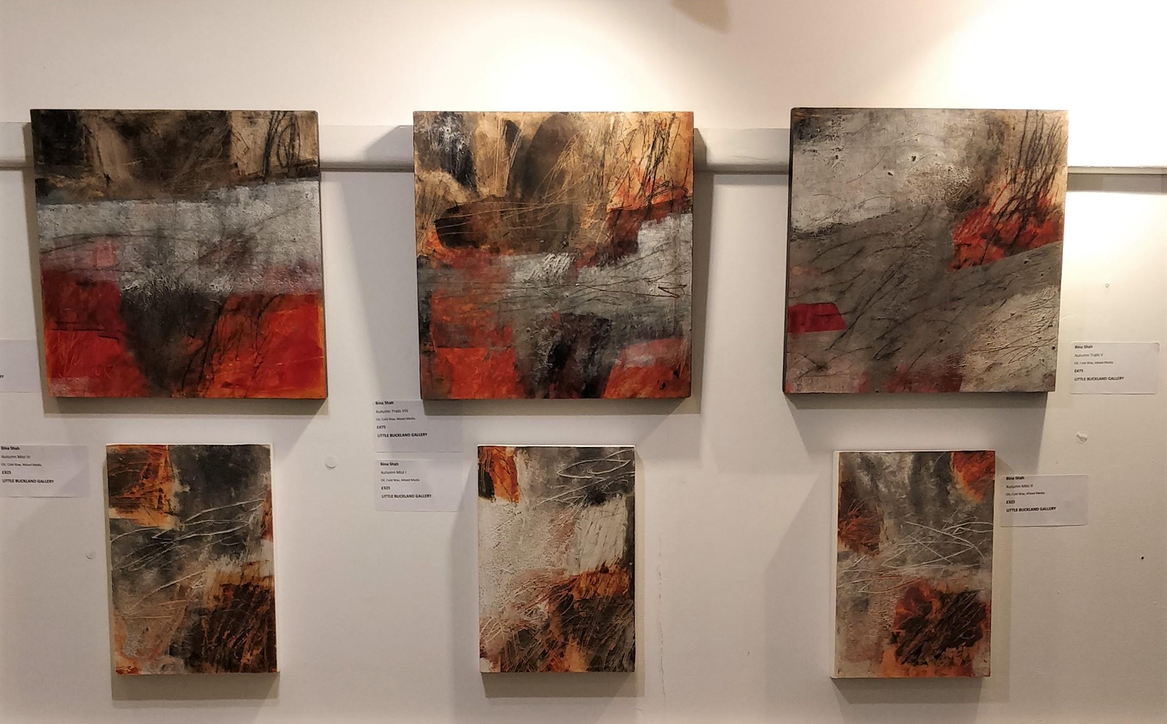 Equinox Exhibition Art Gallery Cotswolds. Little Buckland Gallery